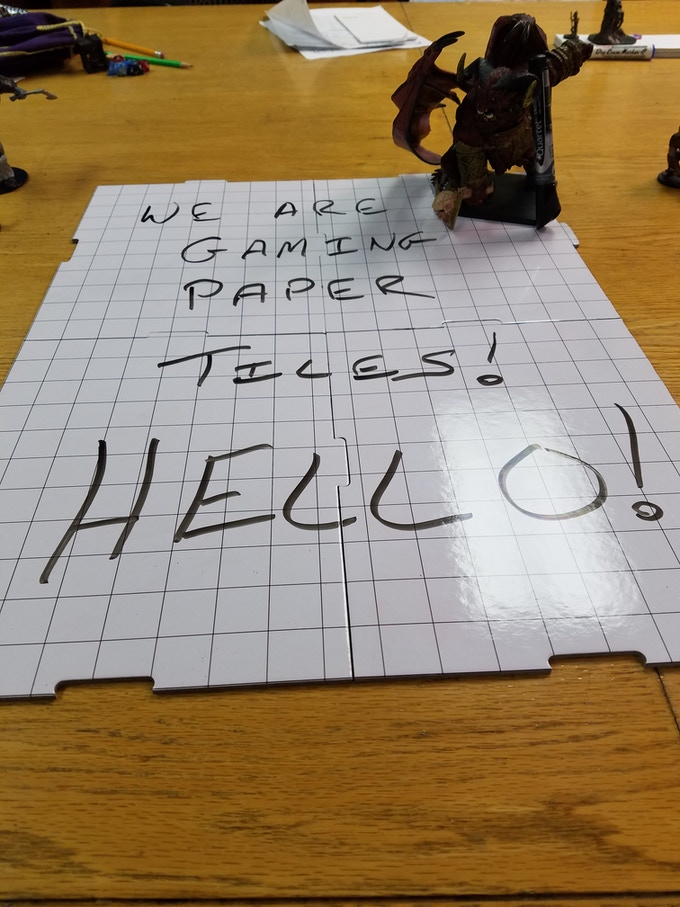 Hello, I am Gaming Paper Tiles!