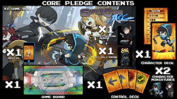 Super Chibi A.C.E. Pledge Contents