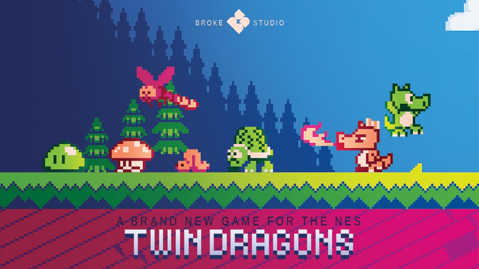 Twin Dragons is a brand new game for the Nintendo Entertainment System (NES). Help us bring it on a real cartridge for your console!