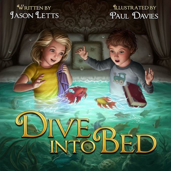 Dive into Bed Cover