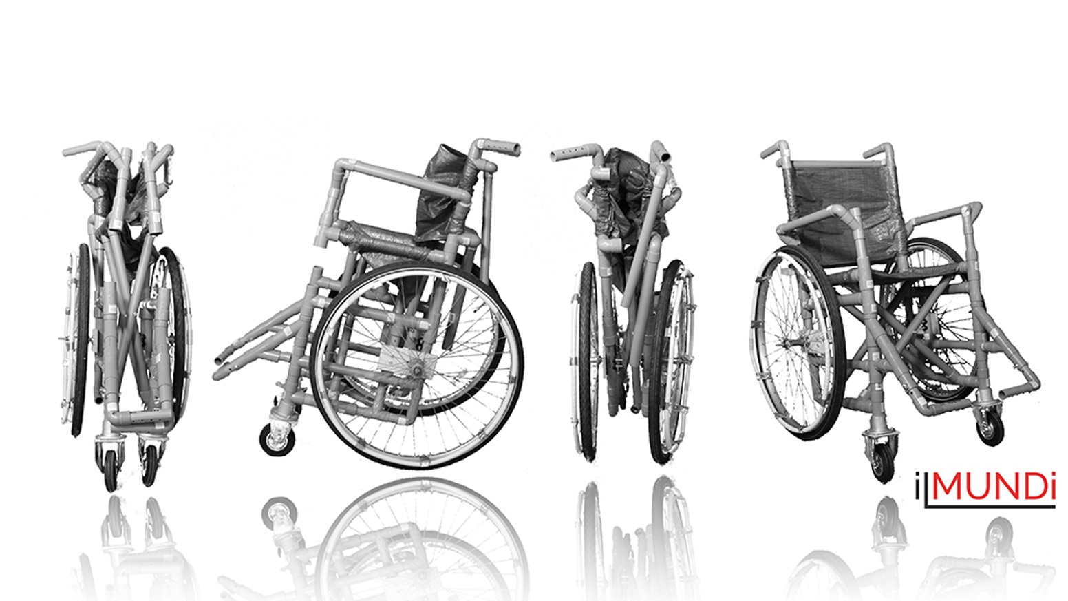 We are creating the first DIY folding wheelchair to help less fortunate individuals and organisations in developing countries worldwide