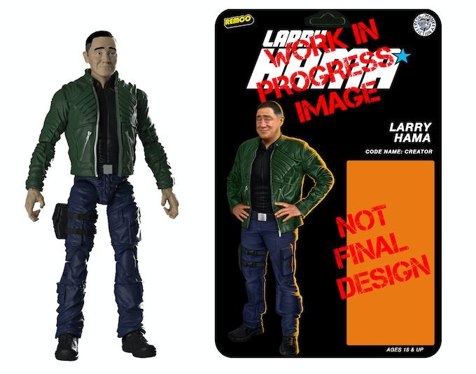 Larry Hama Action Figure par Bill Murphy -- KickStarter A969eed4516abafd4833232c0d05a988_original