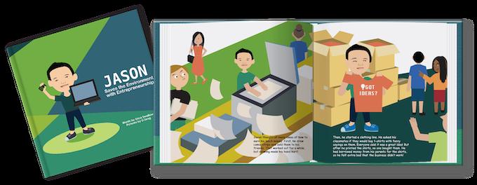 Entrepreneur Kid: Children's Books about Kid Entrepreneurs