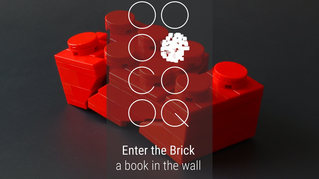 Project image for Enter the Brick - A book in the wall