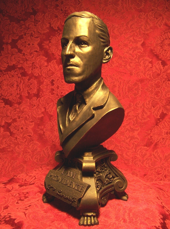 H.P. Lovecraft Bust!!!