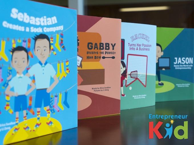 Entrepreneur Kid: Children's Books about Kid Entrepreneurs by Erica