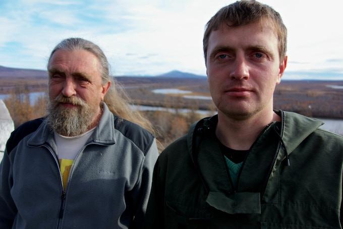 Me, Nikita Zimov, and my father, Sergey Zimov