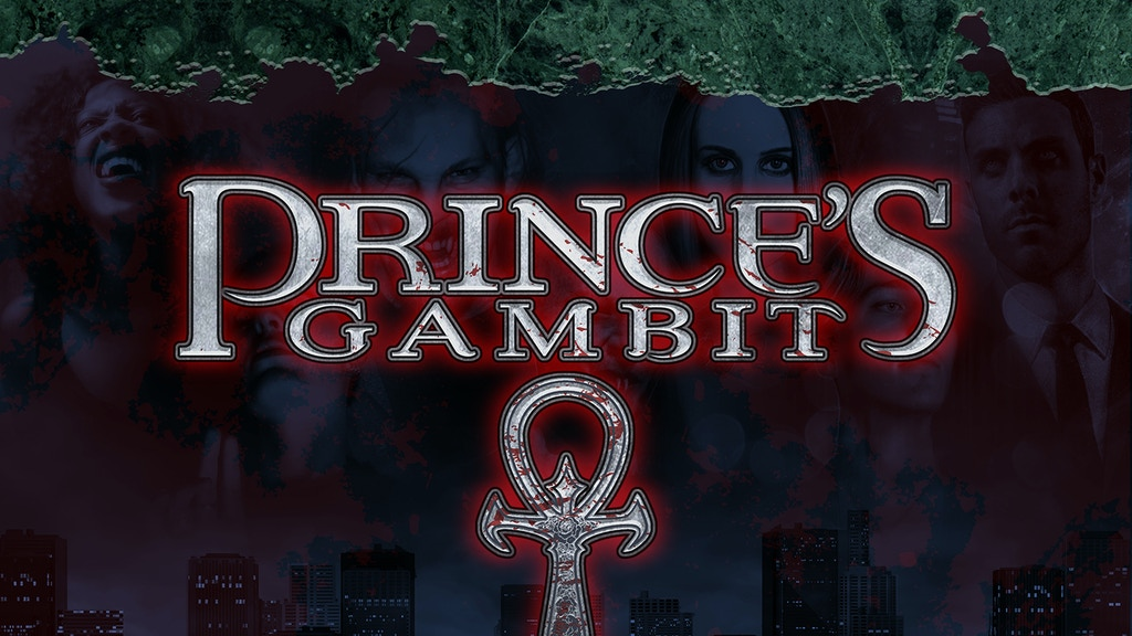 Prince's Gambit Casual Vampire Card Game project video thumbnail