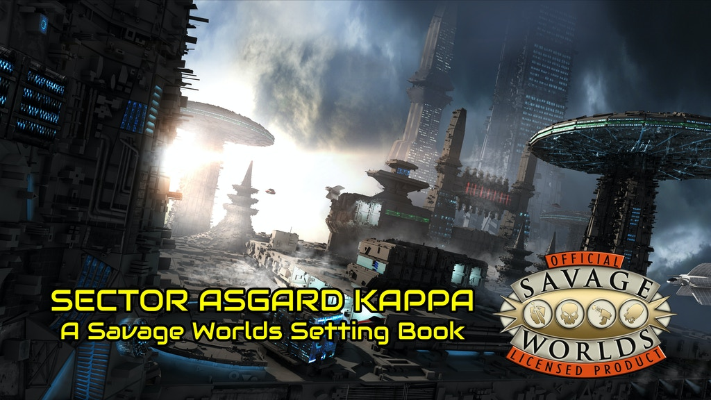 Savage worlds sector asgard kappa by ian liddle kickstarter for Bureau 13 savage worlds