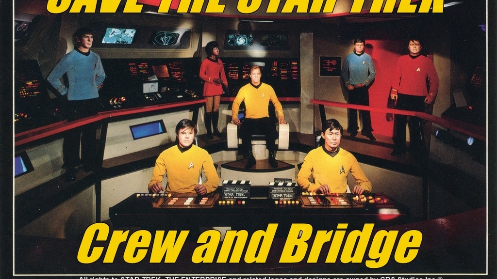 STAR TREK Original Cast + Bridge Movieland Restoration project video thumbnail