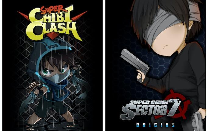 Super Chibi Clash and Super Chibi Origins: Sector 7