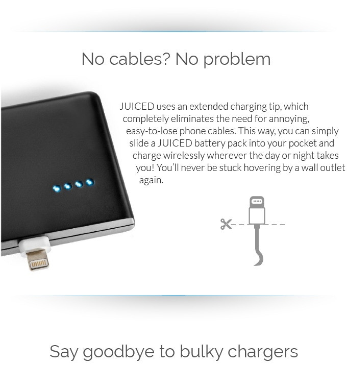 Station Eleven Quotes With Page Numbers: Charge Everyone's Phone Wirelessly. By JUICED