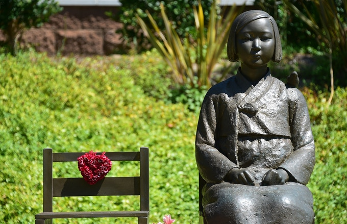 Comfort Women Statue in Glendale, CA (Frederic J. Brown/AFP/Getty Images)