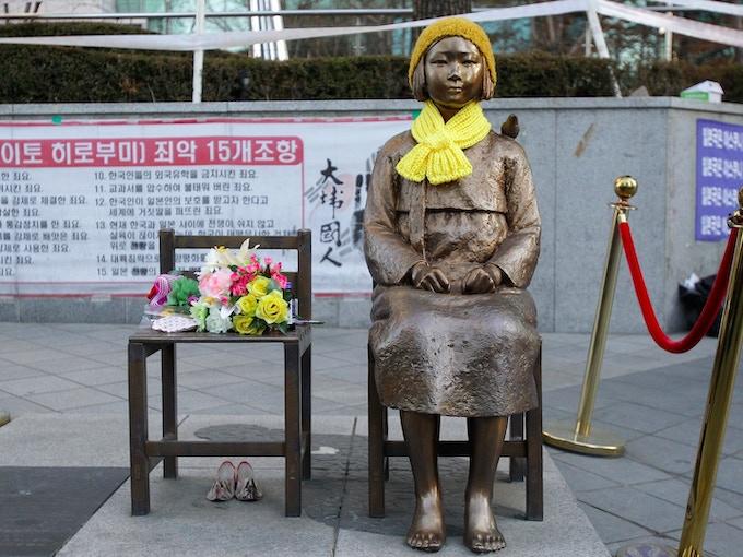 Comfort Women Statue in Seoul, Korea (Chung Sung-Jun/Getty Images)