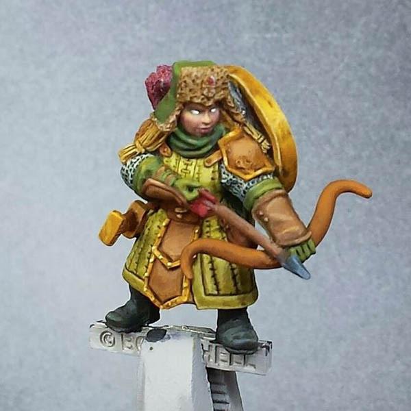 Brinna the Dwarf Ranger - work in progress