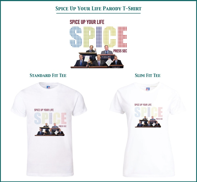 Spice Up Your Life Parody T-Shirt