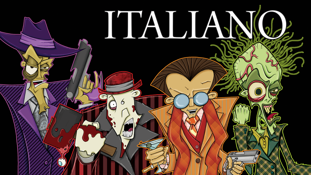 Italiano the graphic novel series project video thumbnail
