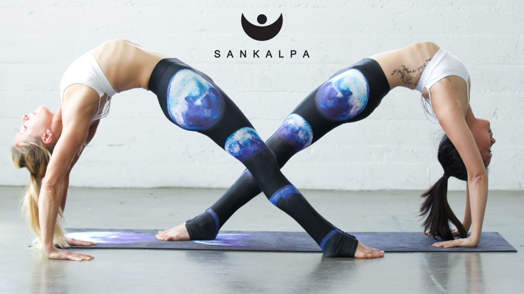 d60e2adb73c0fb Sankalpa Indie Artist Designed Yoga Pants by Josh & Elyse Nickell ...