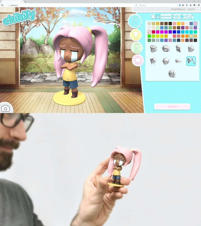 Your chibi made real!