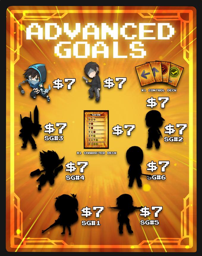 Super Chibi Advanced Goals