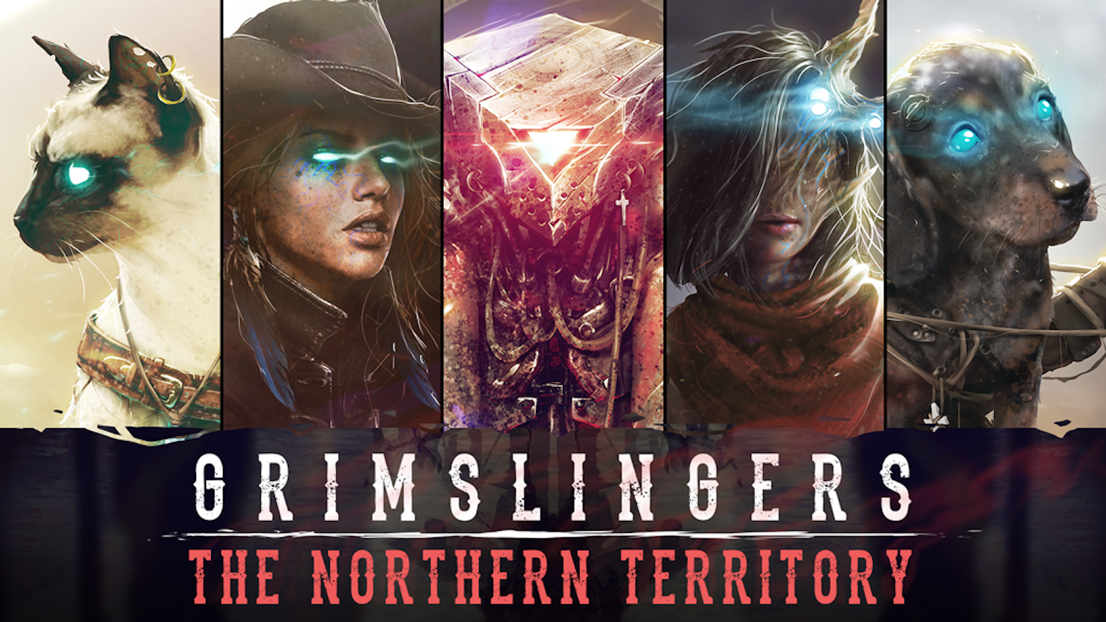 A weird-western card dueling game for 2-6 players that doubles as an RPG-like, campaign driven, solo / co-op for 1-4 players.