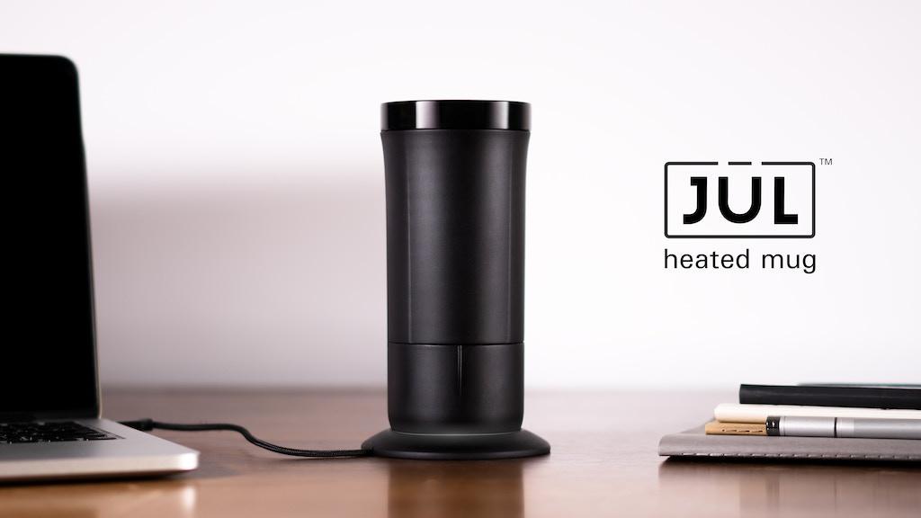 The Jül: Heated Smart Mug for Coffee & Tea project video thumbnail