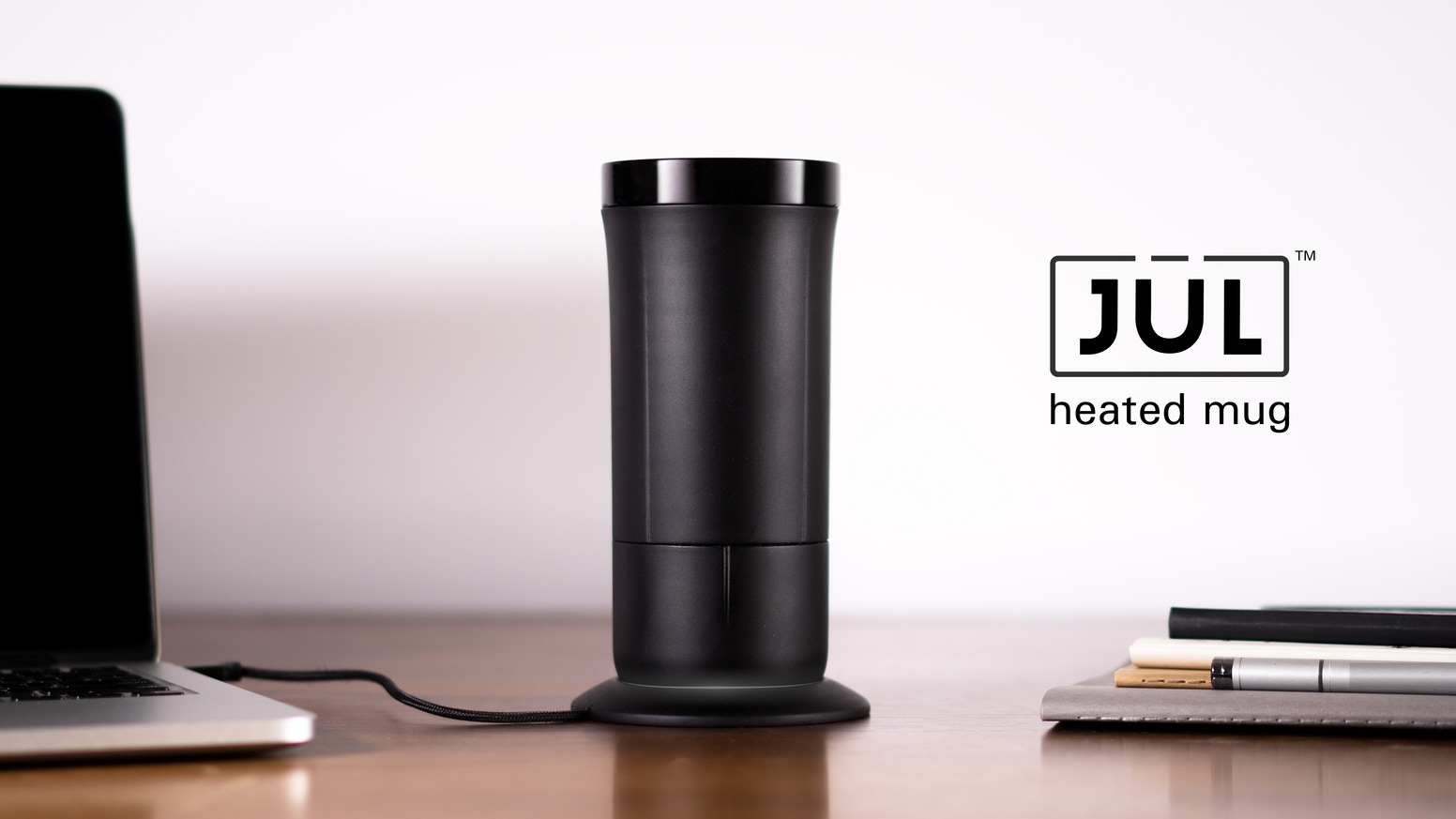An intelligently designed tumbler that keeps hot beverages at the perfect temperature from the first sip to the last drop. Unfortunately, this project has been cancelled due to manufacturing limitations.