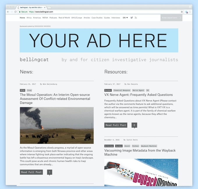 £1,500 to £5,000 Brand sponsorship (desktop sample, price depends on duration of sponsorship)