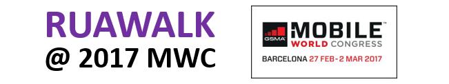 RUAWALK @ 2017MWC on YouTube