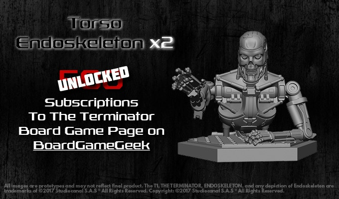 All Torso Endoskeletons unlocked will be added to the Termination box!