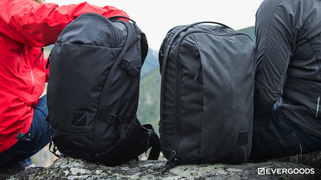 The EVERGOODS CPL24 and MPL30 Crossover Backpacks project video thumbnail