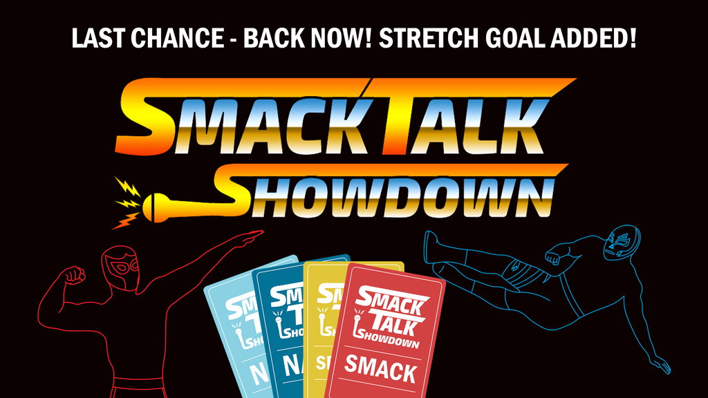 Smack Talk Showdown - Wrestling Party Card Game project video thumbnail