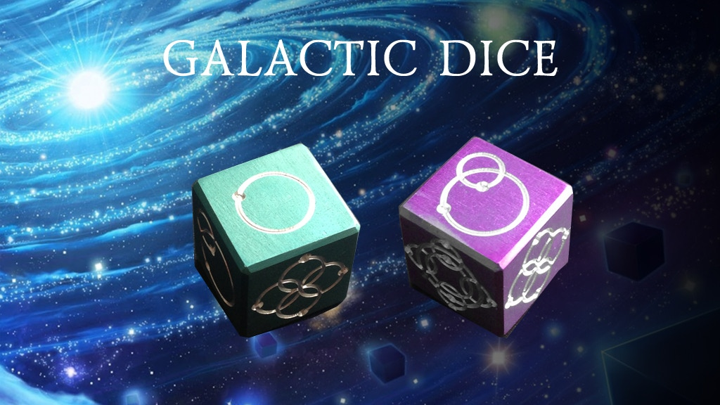 Galactical dice project video thumbnail