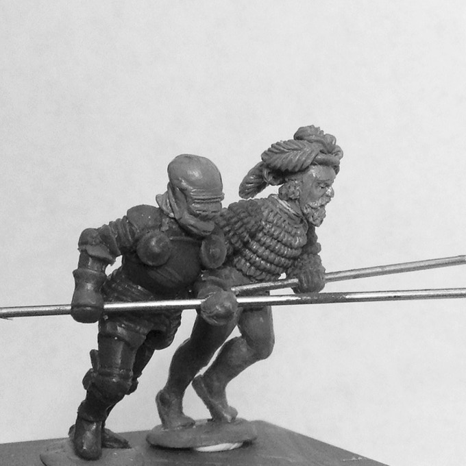 Preview of the some of the pikemen....