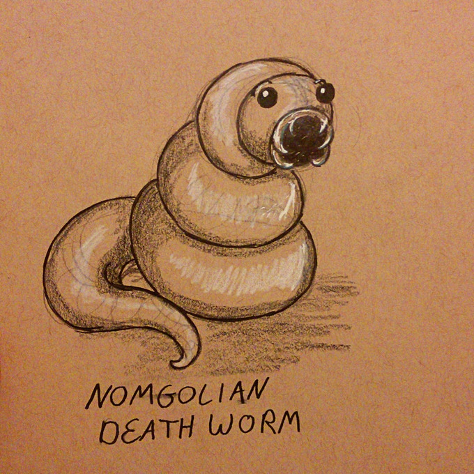 #2 The Nomgolian Death Worm