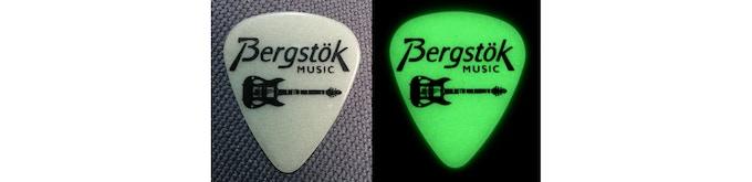 Bergstok Medium Glow in the Dark Picks