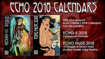 Echo Chernik 2018 Calendars
