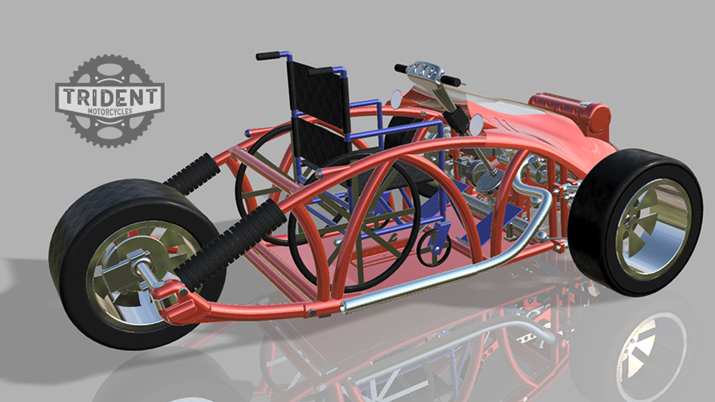 Project image for The Trident Motorcycle