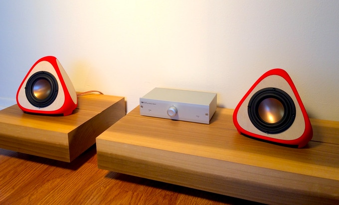 Pair of T3TRA CLASSIC with Musical Fidelity V90 amplifier