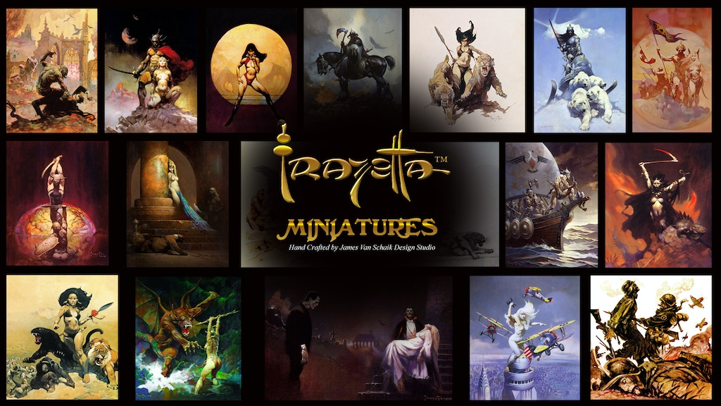 Frazetta Miniatures project video thumbnail