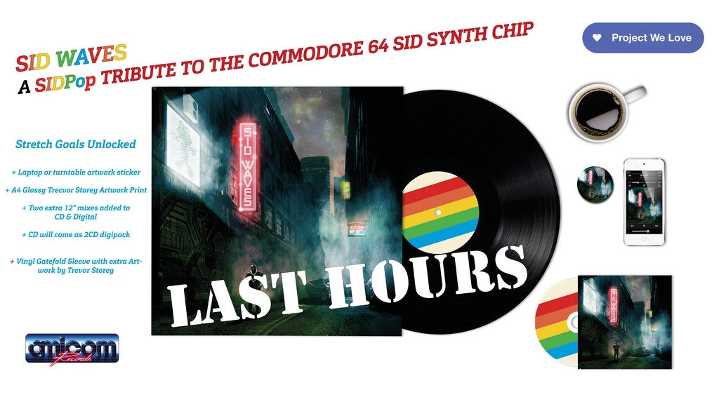 SID Waves - A Vinyl Tribute to the Commodore 64 SID Chip project video thumbnail