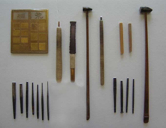 Kashima-style Nunome Tools