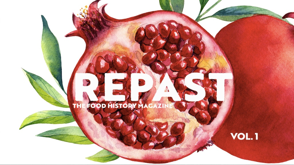 Repast: the First-Ever Food History Magazine project video thumbnail