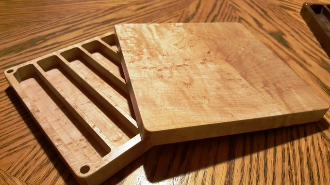 Birdseye Maple - Can be yours, just add $25 to your original pledge.