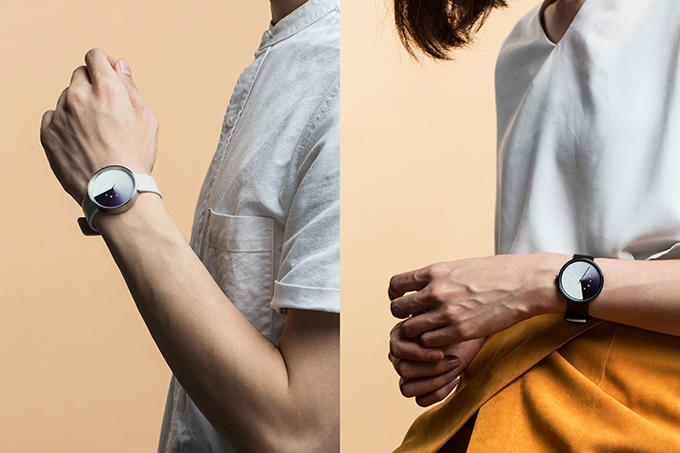 The timepiece stands out while complimenting your look