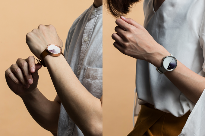 Hidden Time is the perfect size for any wrist