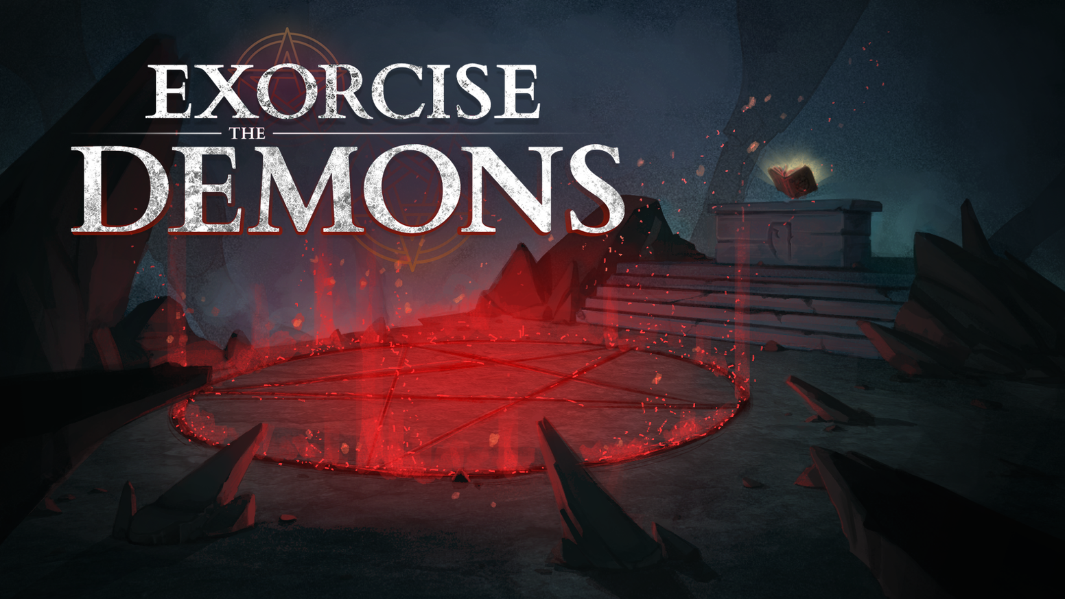 Exorcise the demons dark fantasy cooperation game by midnight exorcise the demons is a cooperative game play as an exorcist while your friends tell solutioingenieria Gallery