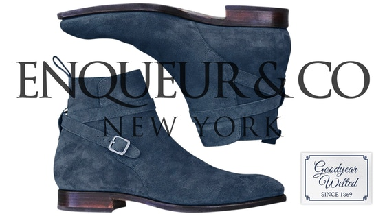 ENQUEUR Shoes - Handcrafted Goodyear Welted - made in UK