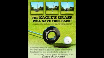 Eagle's Grasp Golf Putter