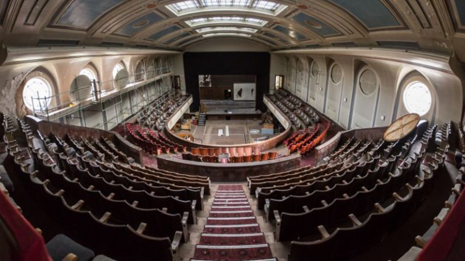 Helping create an inspiring arts & music venue for Edinburgh by restoring a stunning Art Deco theatre that's been derelict for 28 years